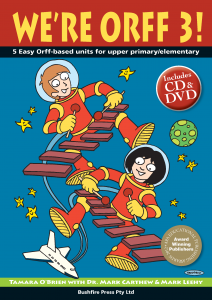 We're Orff 3 Book CD and USB