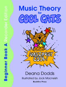 Music Theory for Cool Cats Beginner Book A, Recorder Edition