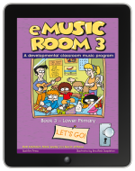 eMusic Room 3 on iBooks