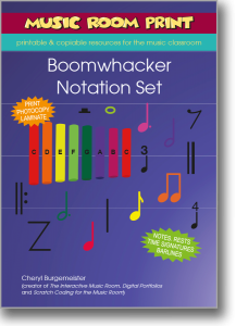 Boomwhacker Notation Set