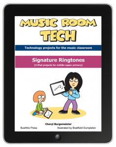 Signature Ringtones iPad projects