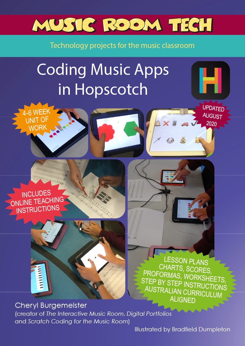 Coding in Hopscotch