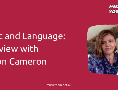 Music and Language: Interview with Allison Cameron
