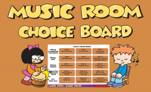 Music Room Choice Boards