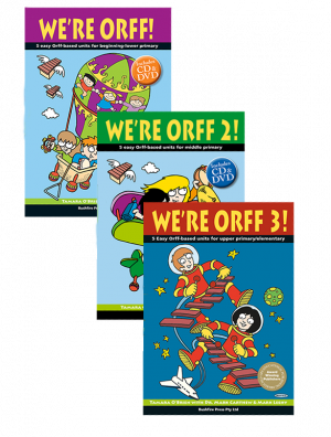We're Orff covers levels 1,2,3