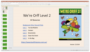 Media Powerpoint Contents